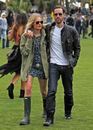 boho kate bosworth and bf Michael Polish