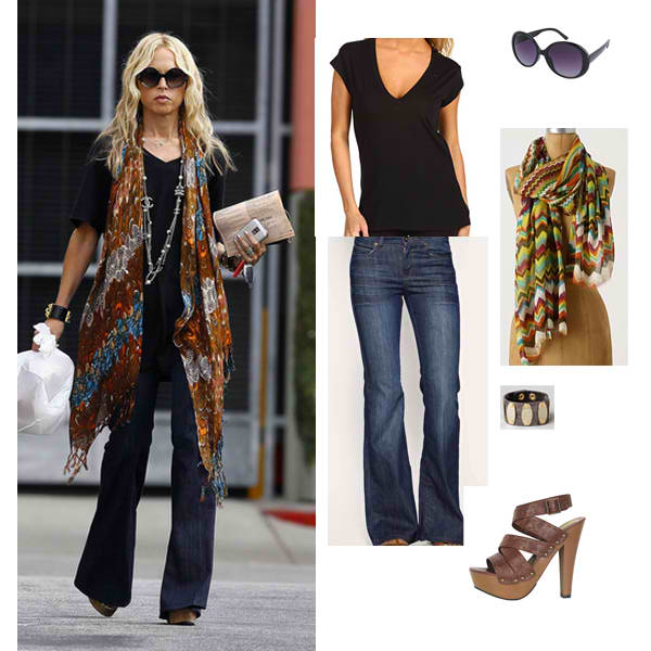 Celebrity Bohemian Style - Celebrity-Inspired Bohemian Fashion